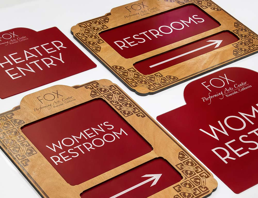 Premium Directional Signs and Custom Signage