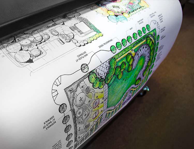 Architect Drawings in full color