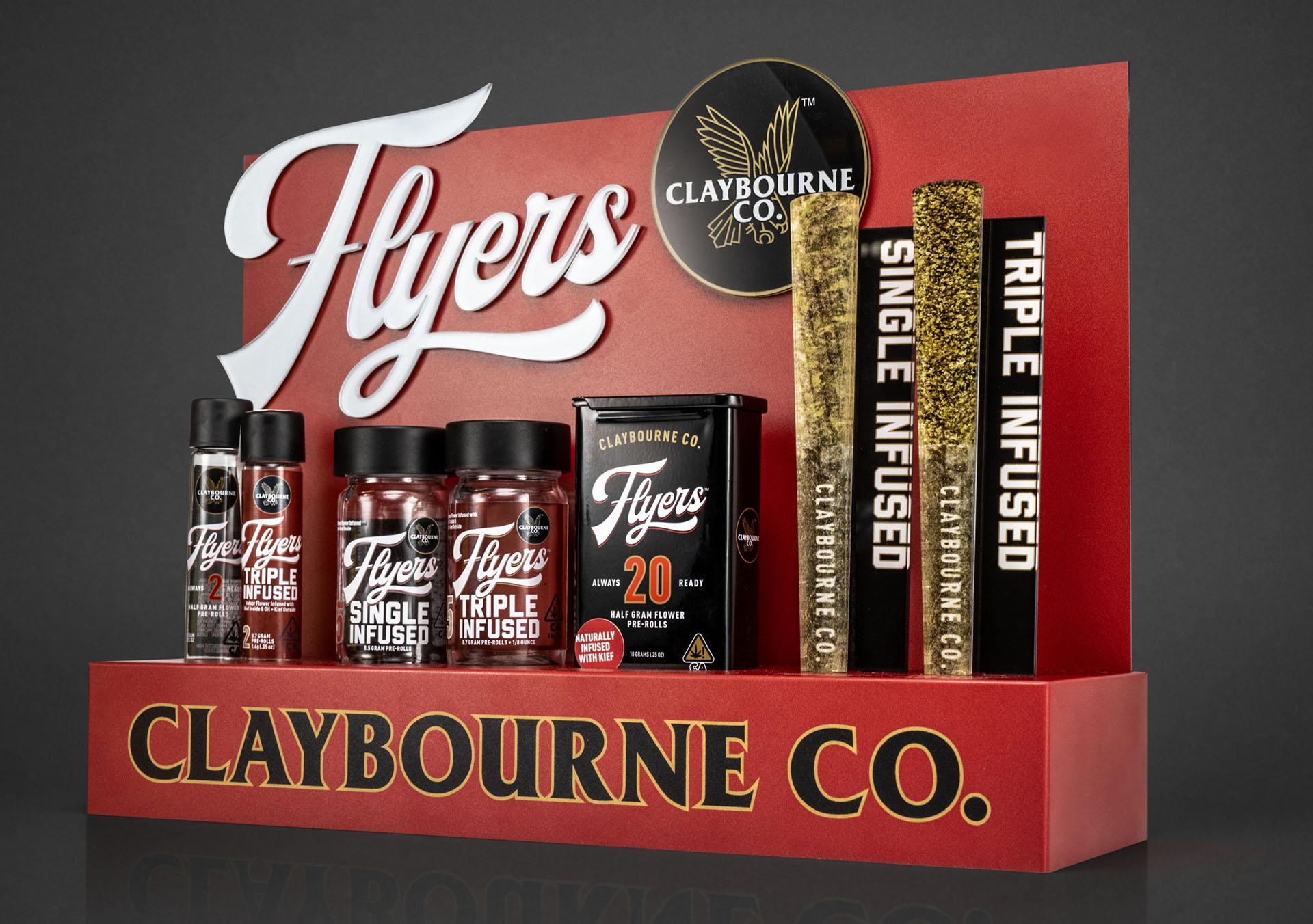 Claybourne Flyers countertop display