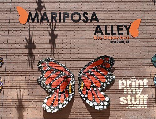 Mariposa Alley Sign Refresh